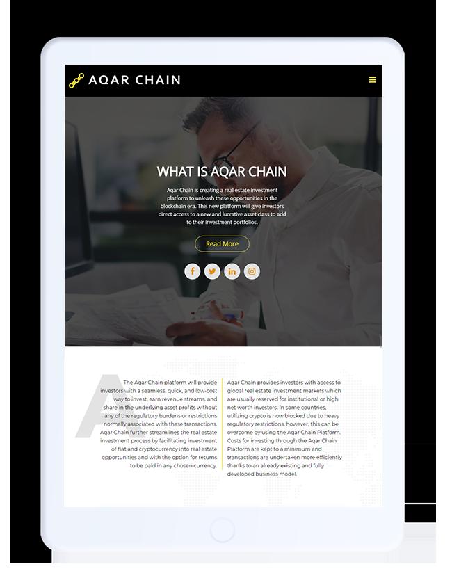 aqarchain_tab-port